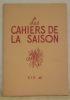 Les Cahiers de la Saison. Eté 46..