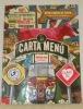 La carta de menu Edicion 2015. Engallada. Andres Carne de Res. Chia, Colombia. Andre C.D..