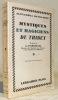 Mystique et Magiciens du Thibet. Préface de A. D'Arsonval.. DAVID-NEEL, Alexandra
