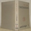 Anthologie de la littérature négro-africaine. Romanciers et conteurs, I.. SAINVILLE, Léonard.