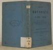 Guide du Botaniste sur le Grand St-Bernard.. TISSIERE, Pierre-Germain.