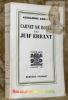 Carnet de route du juif errant. Collection Pour mon plaisir III.. ARNOUX, Alexandre.