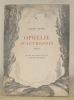 Ophélie d'autrefois. Poèmes. Avec huit lithographies originales de Gustave François.. FOURNET, Charles.