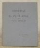 Stendhal et le petit ange. Collection: Les Amis d'Edouard, n.° 99.. ARBELET, Paul.