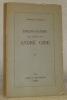 Bibliographie des écrits de André Gide. Préface de Maurice Bedel.. NAVILLE, Arnold.