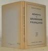 Mémento de grammaire française.. GUISAN, G. - JEANRENAUD, A.