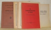 (Lot de 17 brochures du Parti Socialiste Suisse de 1918 à 1936, 1948 et 1944). Brochure 1: Le Parti Socialiste Suisse de 1918 - 1920. Rapport de ...