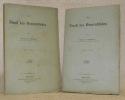 Der Dienst des Generalstabes. Erster Theil. Zweiter Theil.. SCHELLENDORFF, Bronsart von.