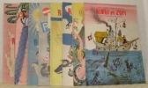 Les aventures de Ringi et de Zofi, 8 premier volumes. Tous première édition sauf 2ème volume de la 2ème édition..
