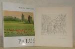 Palué. Collection: Peintres et sculpteurs d'hier et d'aujourd'hui.. SAUVAGE, Marcel.