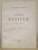 Frédéric Bazille et son temps. Thèse. Collection: Peintres et sculpteurs d'hier et d'aujourd'hui.. DAULTE, François.