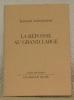 """La réponse au grand large. """"Les Hommes du Port"""" de René Auberjonois. Collection: """"Arrêt sur image"""".. AUBERJONOIS, Fernand."""