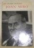 Joan Miro. Collections: Les grands Peintres.. HAUERT, Roger (Images). - VERDET, André (Texte).