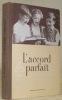 L'accord parfait. Manuel d'éducation musicale. Cinquième édition.. BURDET, Jacques.