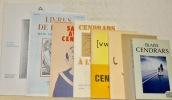 Lot de 8 titres concernant Cendrars. - Théâtre Populaire Romand. Blaise Cendrars. Montage de J.-C. Flückiger. 1984. - Exposition Blaise Cendrars. ...