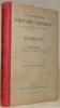 Cours élémentaire d'histoire naturelle à l'usage de l'enseignement secondaire. Botanique. Deuxième édition revue et augmentée.. JACCARD, Paul.