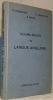 """Cours moyen de Langue Anglaise. D'après la """"Modern English Grammar"""". Hubscher, J. - Frampton, H. C. - Briod, E."""