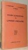 """Cours élémentaire de Langue Anglaise. Introduction à la """"Modern English Grammar"""" Sixième édition.. Hubscher, J. - Frampton, H. C. - Briod, E."""