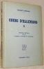 Cours d'allemand II.  Nouvelle édition revue par P. Bonnard, J. Duvoisin et O. Hübscher.. ROCHAT-LOHMANN.