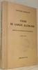 Cours de langue allemande destiné aux écoles neuchâteloises. Quatrième édition.. ROCHAT-LOHMANN.