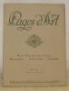 Pages d'Art. Revue Mensuelle Suisse Illustrée. Beaux-Arts - Musique - Littérature. IIIme Année - Numéro 3 - Mars 1917. Sommaire du Numéro de Mars ...