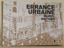 Errance urbaine. Dessins et poèmes.. MATTHEY, Muriel.
