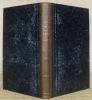 Notice sur la vie et les ouvrages de Léopold Robert suivie de la Description des quatre Tableaux de ce peintre: l'improvisateur napolitain. - La ...