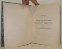 Miniatures persanes, turques et indiennes. Collection de son Excellence Chérif Sabry Pacha. Mémoires de l'Institut d'Egypte, sous les auspices de Sa ...