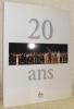 Béjart Ballet Lausanne... 20 Ans. Traductions de Barbara Silverstone.. BEJART. - PASTORI, Jean Pierre (texte de). - PAOLINI, François (réalisation ...