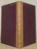 La Sainte Bible, texte de la vulgate, traduction française en regard avec commentaires théologiques, moraux, philosophiques, historiques, etc., ...