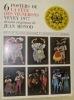 6 Posters de la Fête des Vignerons Vevey 1977 dessins originaux de Jean Monod..