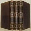 Chansons de Béranger. Edition revue par l'auteur contenant cinquante-trois gravures sur acier d'après Charlet, A. de Lemud, Johannot, Grenier, ...