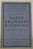 Saint François d'Assise. Traduit de l'anglais par Isabelle Rivière. Collection: Le Roseau d'Or, oeuvres et chroniques, n.° 4.. CHESTERTON, G. K.