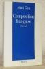 Composition française.. CAU, Jean.