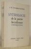 Anthologie de la poésie brésilienne contemporaine.. TAVARES-BASTOS, A. D.
