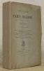 Paris inconnu avec une étude sur la vie de l'auteur par Alfred Delvau. Nouvelle édition augmentée.. PRIVAT D'ANGLEMONT, A.