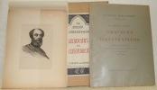 Graveurs et illustrateurs. Portraits hors-texte gravés sur cuivre par Georges Gorvel, Pierre Gandon et Contant Le Breton. Portraits-lettrines gravés ...