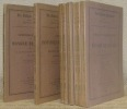 Les Cahiers Balzaciens, nos.° 1 à 8, 8 volumes. N.° 1: Correspondance inédite de Honoré de Balzac avec le Lieutenant-Colonel L. -N. Périolas, 1832 - ...
