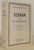 Ozama et ses contemporains. Traduit de l'espagnol par Madame Charles Guernier avec l'aide de Mademoiselle Any Couadau. Collection Aventures et ...