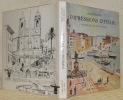 Impressions d'Italie. Aquarelles et dessins de Yves Brayer. Préface de Michel Déon.. SABATIER, Pierre.