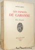 Les esprits de Garonne. Geste champêtre.. BERRY, André.