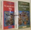 Un acte de terreur. Tome I: Nina. Roman. Tome II: Lisa. Roman. Traduit de l'anglais par Jean Guiloineau. Collection Nouveau Cabinet Cosmopolite.. ...