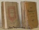 Nouvelles. Traduites en français pour la première fois. Tome I. Tome II. Collection Petite Bibliothèque Elzevirienne.. BANDELLO (Matteo).
