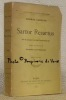 Sartor Resartus. Vie et opinions de Herr Teufelsdroeckh. Traduit de l'anglais par Edmond Barthèlemy. Edition définitive. Collection d'Auteurs ...