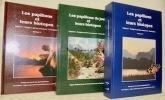 Les papillons de jour et leurs biotopes. Espèces. Dangers qui les menacent. Suisse et régions limitrophes. 3 Volumes complets...