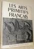 Les arts primitifs français. Art mérovingien - Art carolingien - Art roman. Texte de Jean Verrier.. GISCHIA, Léon. - MAZENOD, Lucien.