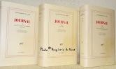 Journal. Edition établie, présentée et annotée par Claude Picard. 3 Volumes complets. 1: Textes autobiographiques 1892-1919. 2: 1919-1936. 3: ...