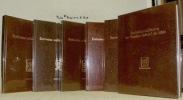 Ecrivains militaires de Suisse romande. Choix de textes et de documents. Collection publiée par l'Association Semper Fidelis. 6 Volumes collection ...