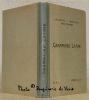 Grammaire latine.. BRUTSCH, Louis. - FAVEZ, Charles. - OLTRAMARE, André.