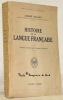 Histoire de la langue française. Collection Bibliothèque scientifique.. DAUZAT, Albert.